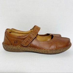 Born Women's Leather Mary Jane Size 9.5